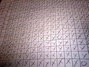 マトリクスパズル